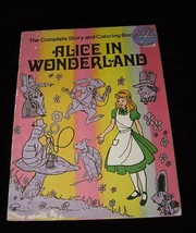 Alice In Wonderland Coloring Book 1976 Ima Industries - $18.99