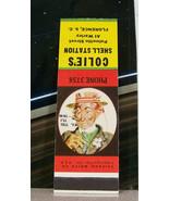 Vintage Matchbook Cover Circa 1950 Florence South Carolina Colie's Shell... - $53.99