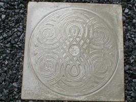 "22""x22"" Celtic Garden Path Stepping Stone Making Supply Kit & Mold FREE USA SHIP image 2"