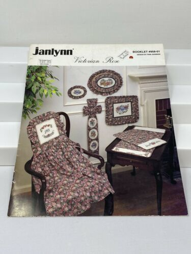 Primary image for Janlynn Victorian Rose Cross Stitch Pattern Booklet #958-01