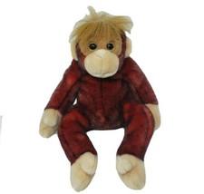 """12 """" Ty 1999 Bonnet Copains Schweetheart Orang-Outan Singe Animal en Peluche - $23.14"""
