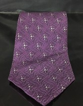 BILL BLASS Purple  Silk Necktie - $12.02