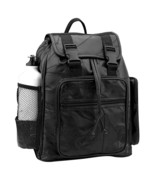Black and Bottle Leather Backpack - $36.58