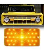 1x Amber Front LED Park Turn Signal Light Lamp Lens EACH for 1969-77 For... - $44.95