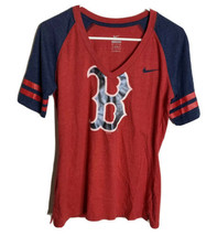Nike Women's Boston Red Sox V-Neck T-Shirt Size M - $12.82
