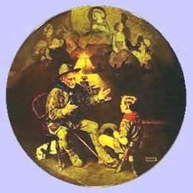 Norman Rockwell The Old Scout Collectors Plate - $24.75