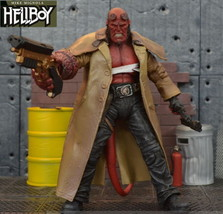 "Hellboy Mezco HB 7"" Action Figure Wounded Ver Exclusive NIB - $32.65"