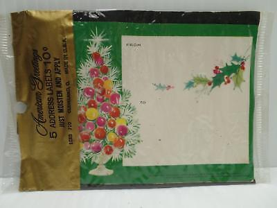 5 address labels postmaster xmas new vtg and 50 similar items 1 1 5 address labels postmaster xmas new vtg american greetings m4hsunfo