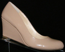 Jessica Simpson Sampson nude man made round toe slip on wedges 7.5M - $35.21