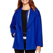 Liz Claiborne Utility Coat Size XLT Msrp $150.00 New Exotic Blue  - $29.99
