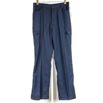 French Toast Uniform Pants 20 W29 Youth Navy Blue NEW Tag Cargo Pockets - $15.70