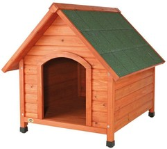 TRIXIE Dog House Log Cabin 44 in. D x 41 in. H Weatherproof Adjustable Feet - $197.02