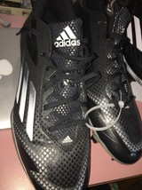 adidas adizero Afterburner 2.0 Low Metal Baseball Cleats 11.5 Kris Bryan... - $49.49