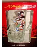 "Ed Hardy 16 Fl. oz. Beer Mug Stein - TopHat Skull 6"" Tall W/Original Box... - $19.41"