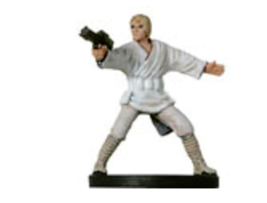 Luke Skywalker Rebel 10 Wizards Of The Coast Star Wars Miniature - $2.49