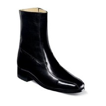 Mens Nunn Bush Ankle Boot Shoes Bristol Black Soft Kid Skin Leather 3014-01  - $77.40