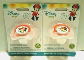 Disney Baby Minnie Mouse Baby Girl Pacifier Plus Chupton BPA Free Pink 2... - $1.97