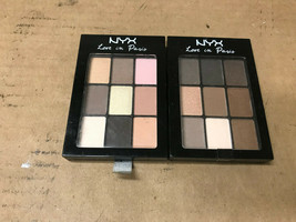 NYX Professional Makeup Love In Paris Eyeshadow Palette CHOOSE YOUR COLORS - $4.87+