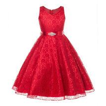 Pageant Flower Girl's Dress Kids Birthday Wedding Bridesmaid Gown Formal... - $14.50