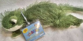 WEBKINZ GREEN GECKO HM186  FULL SIZE PLUSH NEW WITH SEALED CODE FREE SHI... - $22.12
