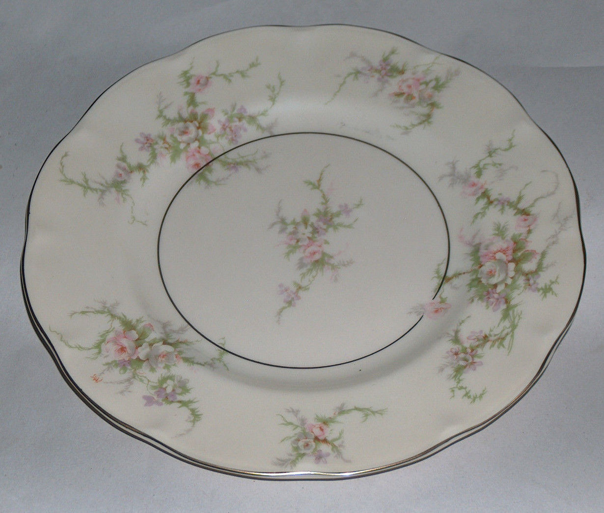 "Primary image for 1 Theodore Haviland New York 7 1/2"" ROSALINDE Replacement Salad Plate Dish USA"