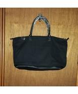 Large Black 2 Pc Tote Luggage Overnight - New - $49.99
