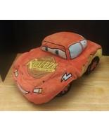 "Disney Store Pixar Cars Lightning McQueen Plush Pillow 13"" - $17.81"