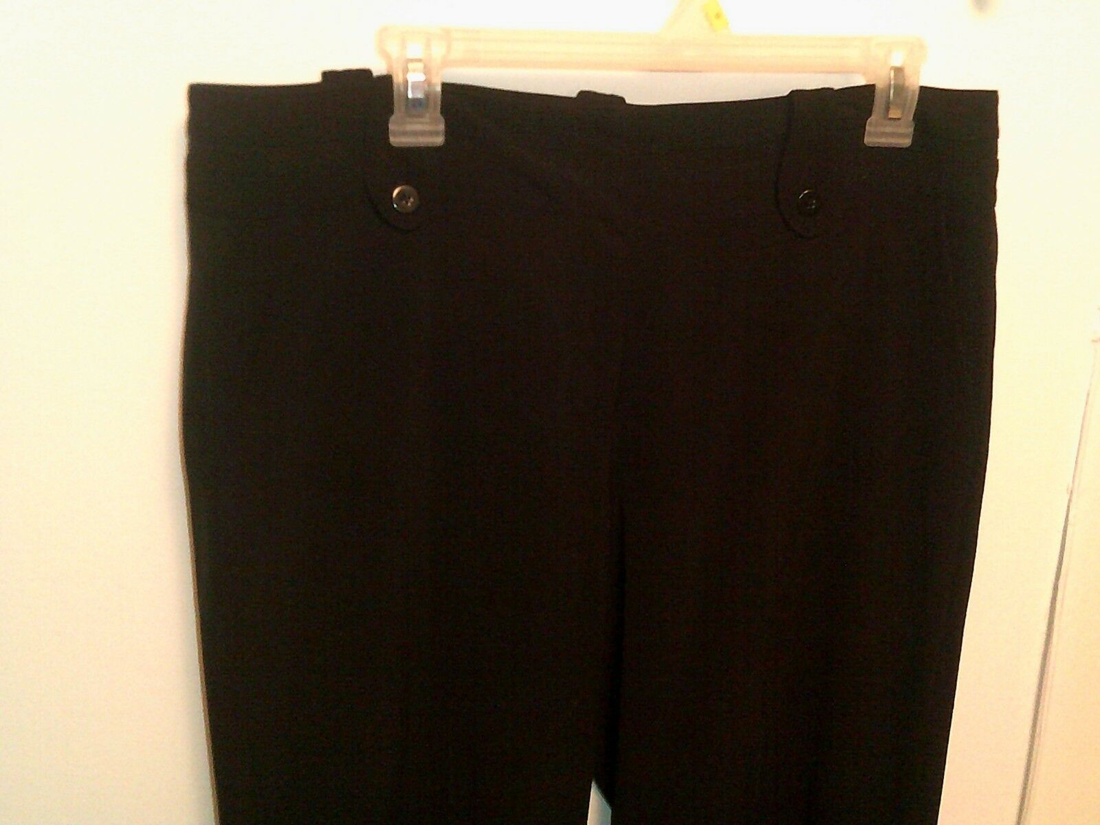 LARRY LEVINE ~ Women's 14 Black Dress Pants ~ STRETCH