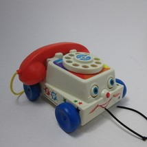 Fisher Price, Chatter Telephone pull toy Toddler REMAKE 2005  - $7.43