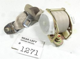 1998-2002 HONDA ACCORD 2DR REAR LEFT SEATBELT IVORY BROWN FACTORY FEO 1B... - $56.42
