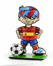 Romero Britto Mini World Cup Soccer Player Mini Figurine Spain
