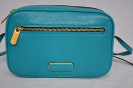 NWT Marc By Marc Jacobs Sally Leather Crossbody Bag Rip Tide Green Color - $169.00