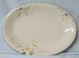 "Mikasa G1001 Summer Flowers Oval Platter 14 1/4"" - $36.52"