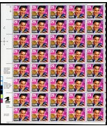 Elvis Presly Complete Sheet of 40 X 29¢ Stamps Scott 2721 - Stuart Katz - $14.95