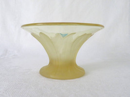 Viking, Pastel Yellow Bouquet Compote - $18.00