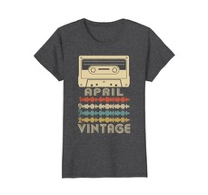 Funny Shirts - Vintage Retro Made In April 1972 46th Birthday Gifts 46 y... - $19.95+
