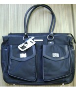 MURANO ULTRA TRAVEL TOTE WITH REMOVABLE COMPUTER SLEEVE/ATTACHMENTS BLAC... - $49.50