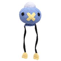 Blue Drifloon Plushie Handmade Amigurumi Stuffed Toy Knit Crochet Doll VAC - $17.82