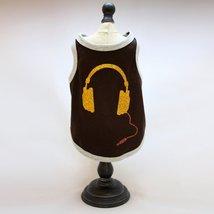 Alphadog Series Headphone glitter printed Tank top T-Shirt for your Dog ... - $7.99