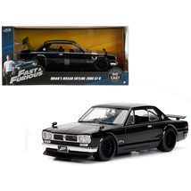Brians Nissan Skyline 2000 GT-R Black from The Fast and the Furious Movi... - $32.30
