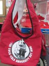 Coca Cola Red Tote/Bag Oval Shape Handle Strap  - NEW - $29.45