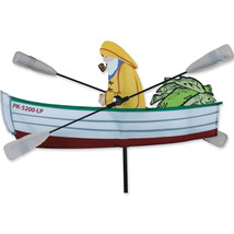 "Fisherman Staked Wind 18"" Whirligig Wind Spinne... - $27.99"