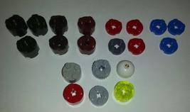 LegoMega Bloks of Round with Axle Plates 20 pieces  - $6.93