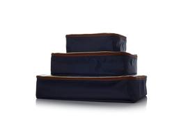Samantha Brown 3pc Packing Cubes, Black - £24.80 GBP