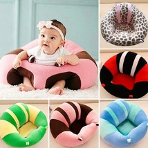 Baby Support Seat Plush Soft Baby Sofa Infant Learning To Sit Chair Keep... - $34.75