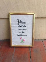 Funny Bathroom Decor - Housewarming Gift - Cocaine Bathroom Decor - Wall... - $29.99