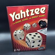 2014 HASBRO GAMING YAHTZEE NEW BOX SEALED BOARD GAME DICE SHAKE SCORE SH... - $19.75