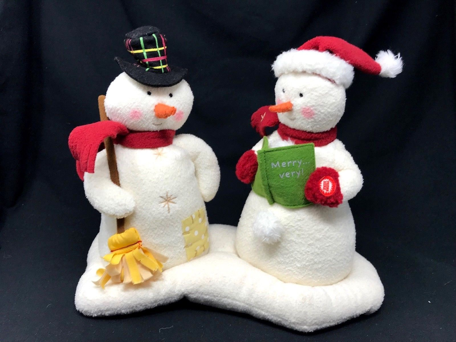 Primary image for Hallmark 2003 Jingle Pals Caroling Snowmen Animated Singing Dancing WORKS
