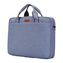14 Inches Simple Style Laptop Bag Waterproof Computer Shoulder Bag - $31.63