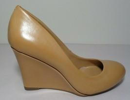 Jessica Simpson Size 5.5 M CASH Tan Wedge Heels Pumps New Womens Shoes - $59.40